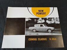Ford Consul Classic Brochure