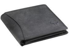 Goudsmid® RFID-Schutz Leder Geldbörse Geldbeutel Portemonnaie Ledergeldbörse AS1