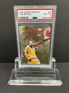 1996 Kobe Bryant Skybox Premium Rookie Card #55 PSA 8