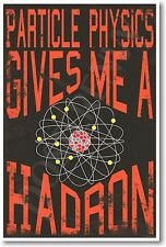 Particle Physics Gives Me A Hadron - NEW Science Physics Classroom POSTER