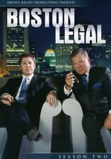 Boston Legal: Season 2 [7 Discs] (2009, DVD NUEVO) CLR/WS7 DISC SET (REGION 1)