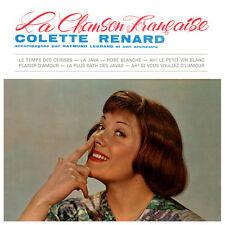 CD Colette Renard : La Chanson Française