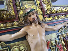 NEW! 6 Inch San Damiano Cross Jesus Crucifix Wall Cross Church Gift Damian XMAS