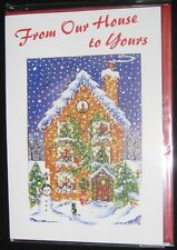 6 Our House to Yours Christmas Cards Bible Text EB11720
