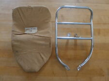 "UNIVERSAL FENDER MOUNT  LUGGAGE RACK ""NEW"" CAFE RACER"