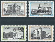 Südwestafrika - Hist. Gebäude in Swakopmund Satz postfrisch 1984 Mi.Nr. 549-552