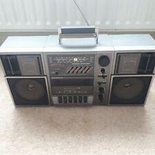 Sanyo M 9835L Boombox Vintage Radio Cassette Player FM SW MW LW Retro