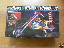 PLASTIC MODEL KNEX CHOPPER 104 PCS NO 21003,IN ORIGINAL BOX  1995