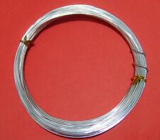 10mt  di filo in alluminio 1mm colore argento