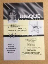 More details for dominique moceanu original vintage magazine clipping / advert