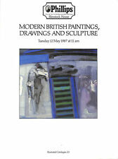 Modern British Paintings, Drawings And Sculpture Tuesday 12 May 1987