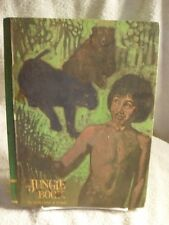 Vintage The Jungle Book Kipling Art By Irwin Dempster 1968 Edition Rare Book