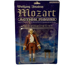 """New Wolfgang Amadeus Mozart Action Figure 5 1/2"""" Accouterments With Piano Bench"""