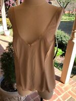 VINTAGE VANITY FAIR  BEIGE CAMISOLE SIZE 42 STYLE 17760 ~ NEW WITH TAGS