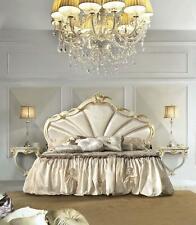 Design Schlafzimmer 3tlg. Bett 2x Nachttisch Klassischer Luxus Betten Set Möbel