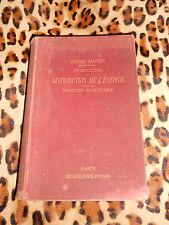 Production et distribution de l'énergie pour la traction électrique- MARTIN 1902