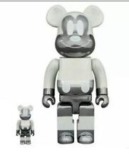 New ListingBe@Rbrick Disney Mickey Mouse Fragment 100% 400% Bearbrick Reverse Ver *In Hand*