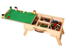 Lego storage Play Table folding wooden kids children lego city drawers new fold