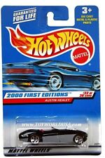 2000 Hot Wheels #92 First Edition Austin Healey blk/grey