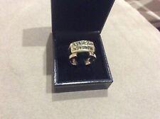 Male/Female14kyg Demantoid Green Garnet Ring 10.8gms Size 10