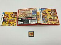 Nintendo DS Tested Complete CIB Mario vs Donkey Kong Mini-Land Mayhems Ships Fas