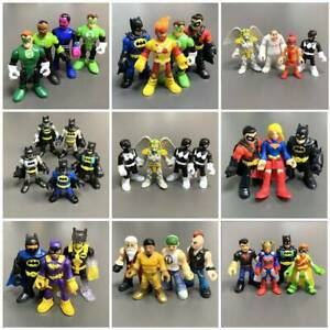 Lot Imaginext Fisher-Price DC Super Friend Power Ranger Robin Action Figure Toy