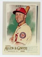 2020 Topps Allen & Ginter #169 CARTER KIEBOOM Washington Nationals BASEBALL CARD