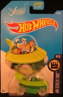 Hot Wheels The Jetsons Capsule Car GREEN #25 2017 new on long card