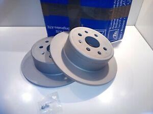 2x Bremsscheibe Ate 410255 für Opel Vectra B
