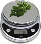 Food Scale Digital Weight Ounce Grams Pounds Readings Kitchen Cooking Tool Black photo