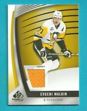 2017-18 Sp Game Used EVGENI MALKIN JERSEY #41