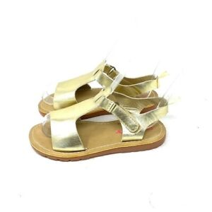 Carter's Gold Sandals Toddler's Size 11
