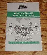 1948-1958 Ferguson Tractor Owners Operators Manual TE-A20 C20 D20 E20