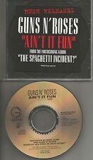 GUNS N ROSES Ain't it fun RUSH RELEASED PROMO radio DJ CD single 1993 USA MINT