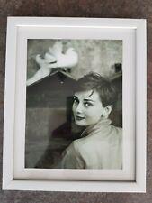 Audrey Hepburn impresión en marco