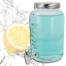 Distributeur de jus 3 litre en verre avec robinet bière eau Maison campagne