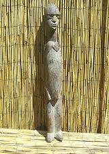 "African Lobi Female Shrine Figure 28"" Tall From Burkina Faso"