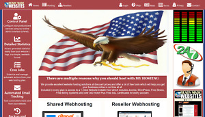 Style 3021 Ready Made Reseller Webhosting Website Free Billing System Included