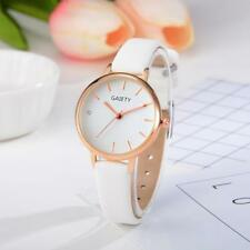 Fashion Women's Watches Leather Band Analog Quartz Round Alloy Wrist Watch Gift