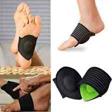 1Pair Sport Cushioned Arch Foot Support Brace Decrease Plantar Fasciitis Pain US