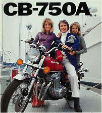 HONDA Brochure CB750 A CB750A 1976 Sales Catalog Catalogue REPRO