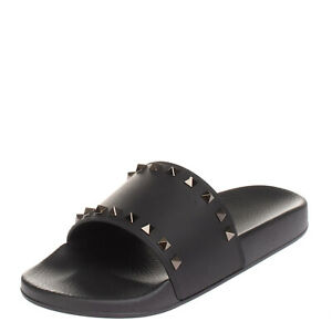 LEFT SHOE ONLY RRP€245 VALENTINO GARAVANI Slide Sandal EU 42 UK 8 US 9 Rockstuds