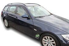 DBM11143 Wind Deflectors BMW 3 E91 Avant Estate 5door 2005-2013  4pc HEKO TINTED