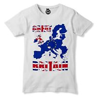 Great Britain Europe Map Independence Day Brexit EU 23rd June Leave T shirt  236