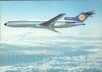 Lufthansa Boeing 727 Europa Jet Stats on back