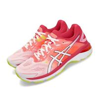 Asics GT-2000 7 White Laser Pink Orange Women Running Shoes Sneaker 1012A610-100