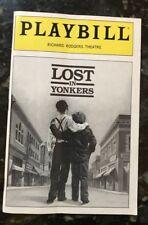 Lost in Yonkers 1992 Broadway Playbill Anne Jackson Lucie Arnaz Steve Vinovich