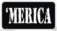 MERICA Hard Hat Sticker Decal Funny Label Welding Motorcycle Helmet America USA