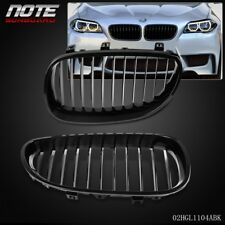 2 pcs Glossy Black Front Bumper Kidney Grille For BMW E60 E61 5 Series M5 03-10