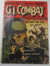 G I COMBAT COMIC #1 OCT 1952 REED CRANDALL COVER ART CHARLES CUIDERA